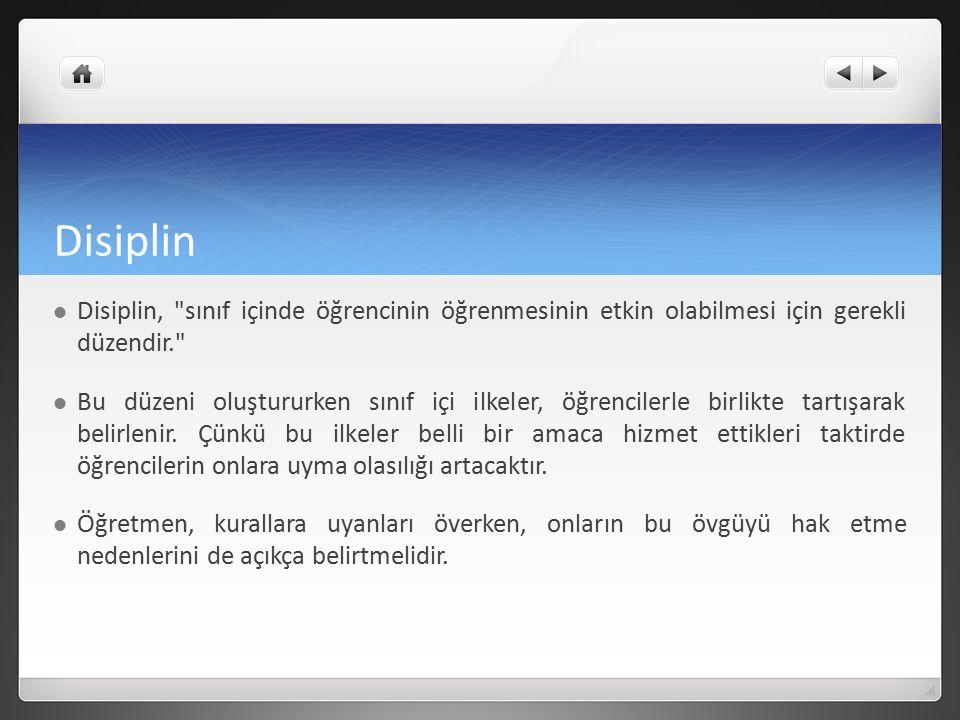 Disiplin Disiplin,