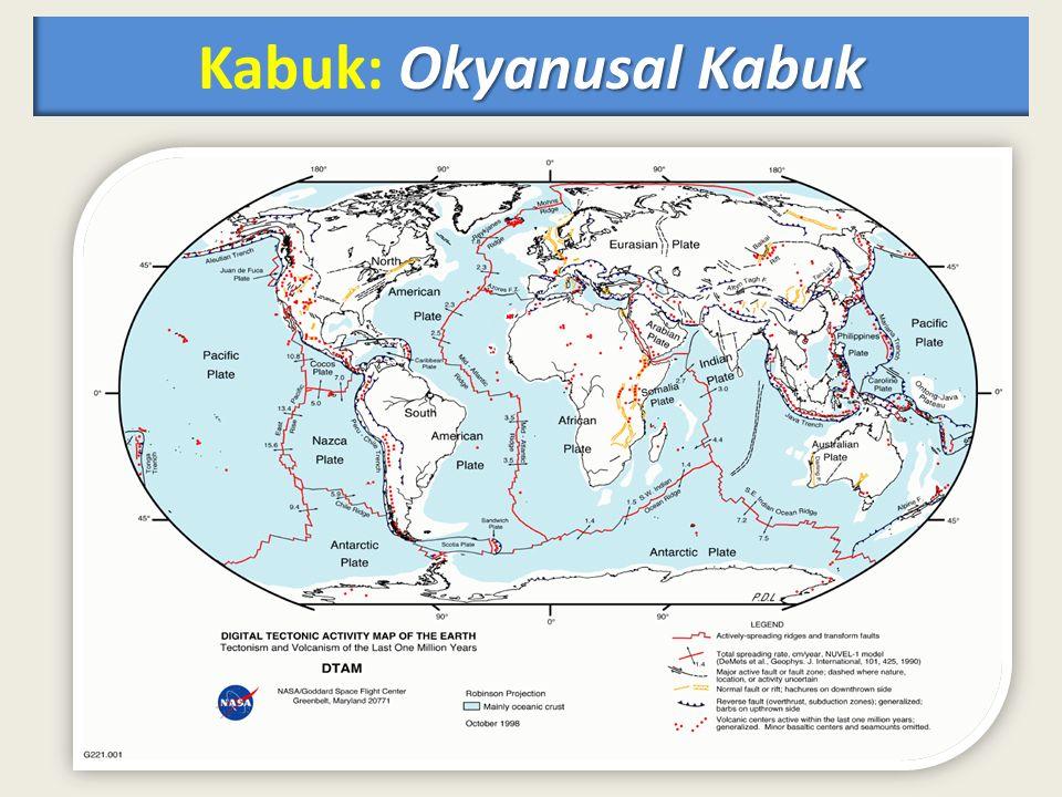 Okyanusal Kabuk Kabuk: Okyanusal Kabuk