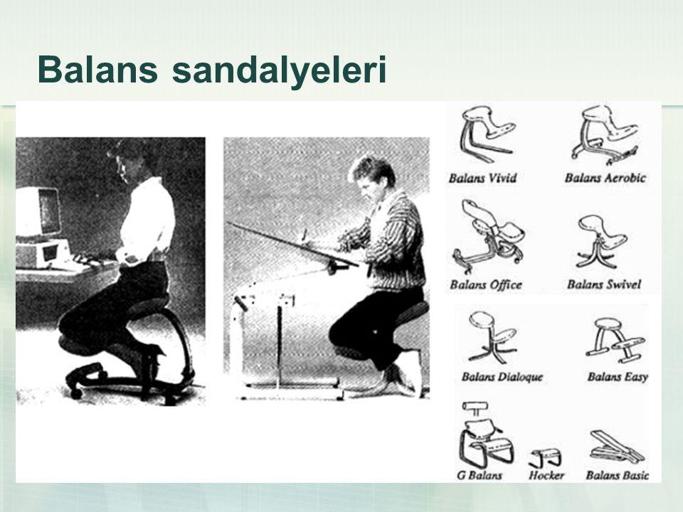 Balans sandalyeleri
