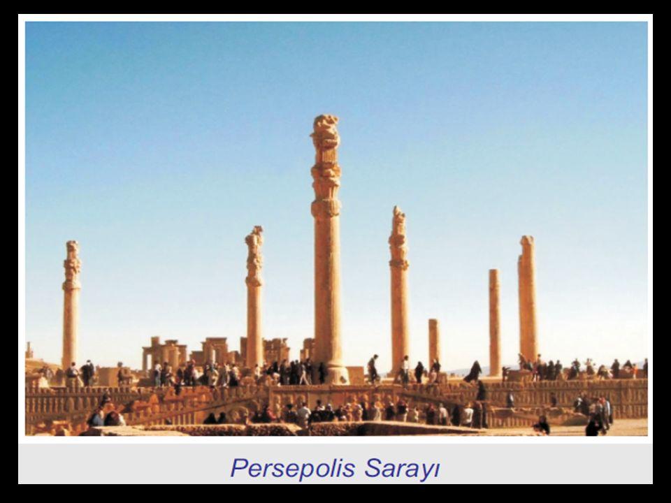 Persopolis kentinden kalıntılar