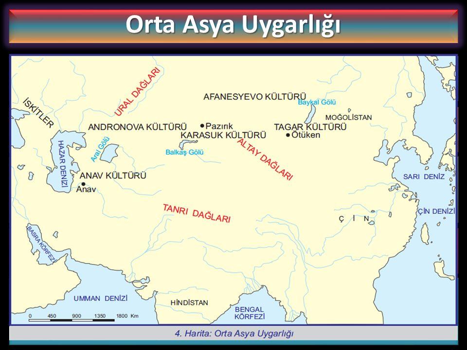 Orta Asya Uygarlığı Anav kültürü, Batı Türkistan'da Aşkabat yakınlarında yapılan kazılarda ortaya çıkarılmış en eski kültürdür.