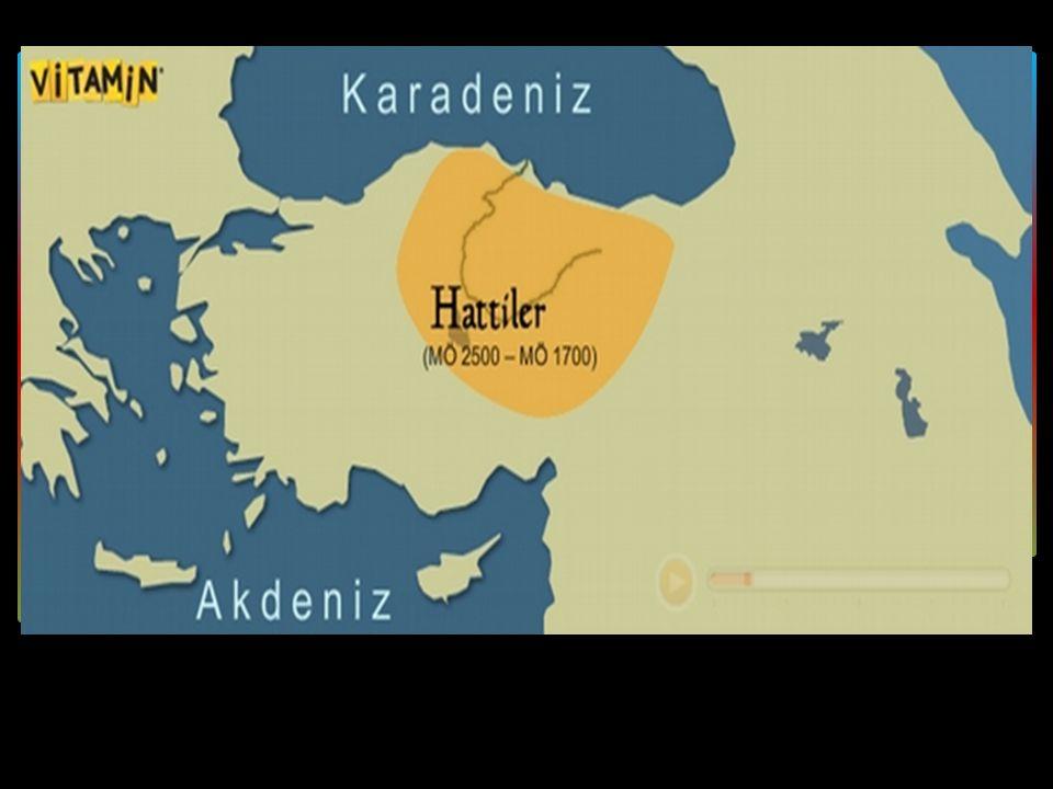 Hattiler Yaklaşık MÖ 2500-1700 yılları arasında Anadolu'da büyük bir uygarlık oluşturmuş Hattiler hakkında bilgilerimiz oldukça sınırlıdır.