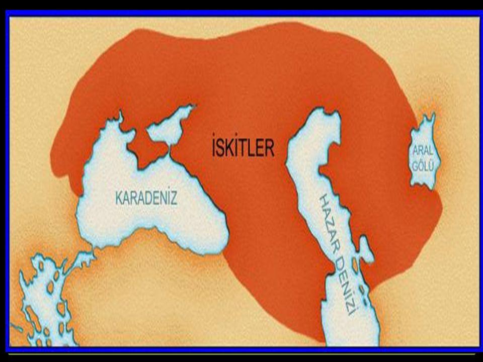 Orta Asya ve Karadeniz'in kuzeyinde önemli uygarlık kuran topluluklardan biri de İskitlerdir.