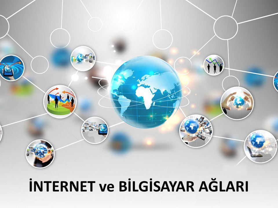 İnternet Nedir Bilgisayar Ağları Ağ Çeşitleri Çağlar Gülcek İNTERNET ve BİLGİSAYAR AĞLARI