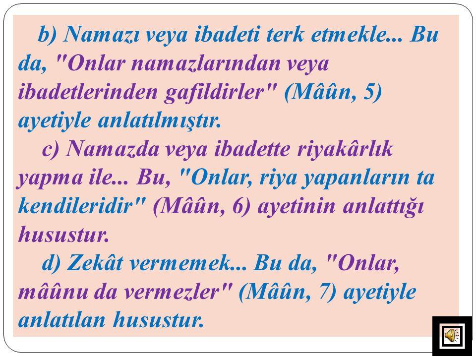 c)- İbn Kesir, sûreyi tanıtırken sûrenin Medenî olduğunu, bir görüş olarak Mekkî olabileceğini de başlıkta zikretmiştir.