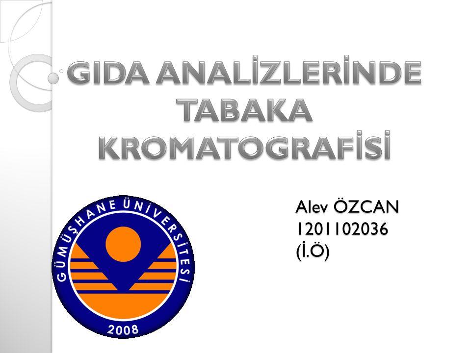 Alev ÖZCAN 1201102036 ( İ.Ö)