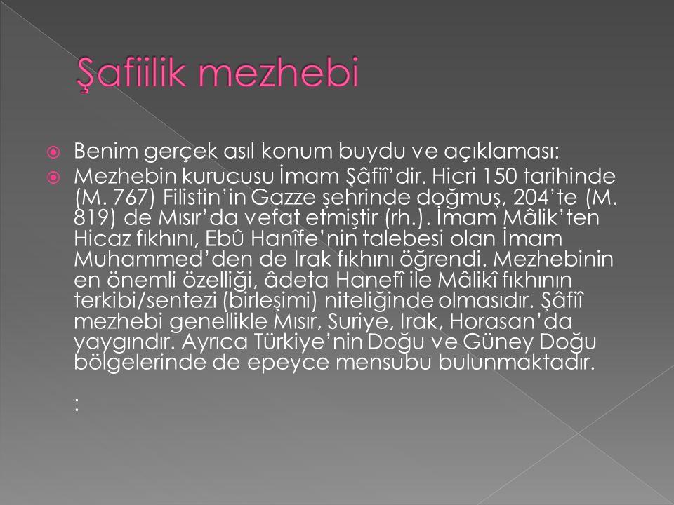  Mezhebin kurucusu İmam Malik'tir (rh.). Hicri 93 (M. 711) yılında Medine'de doğmuş, 179 (M. 795) yılında yine Medîne'de vefat etmiştir. Mezhebin en