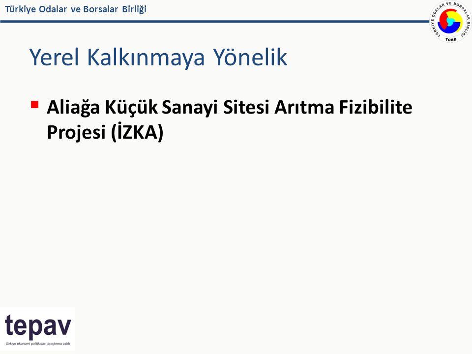 Türkiye Odalar ve Borsalar Birliği Yerel Kalkınmaya Yönelik  Aliağa Küçük Sanayi Sitesi Arıtma Fizibilite Projesi (İZKA)