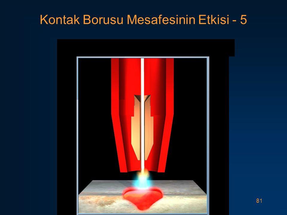 81 Kontak Borusu Mesafesinin Etkisi - 5