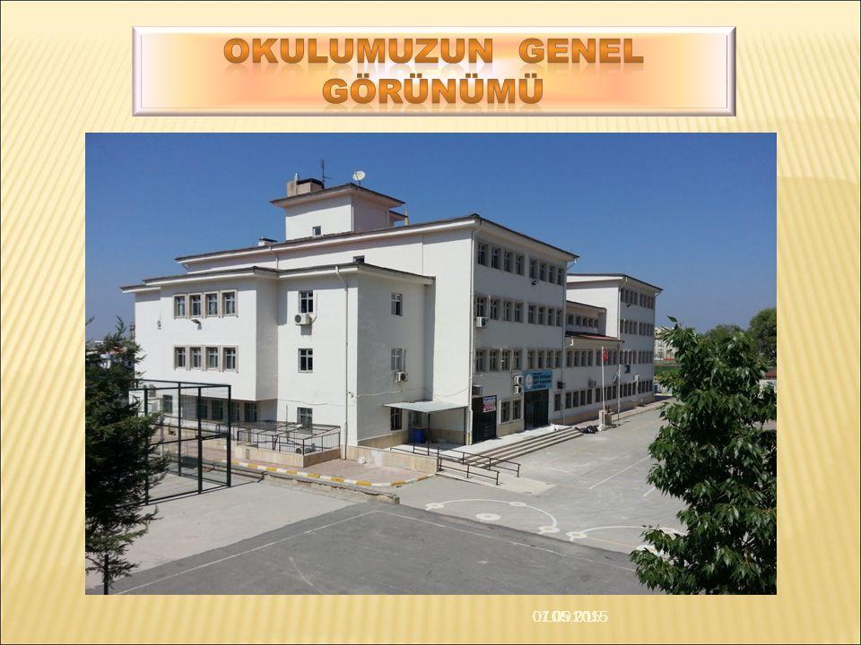 07.05.2015 01.09.2015 Yapımına 02/08/2000 tarihinde başlanan okulumuz hizmet binası, 30.07.2001 tarihinde tamamlanmıştır.