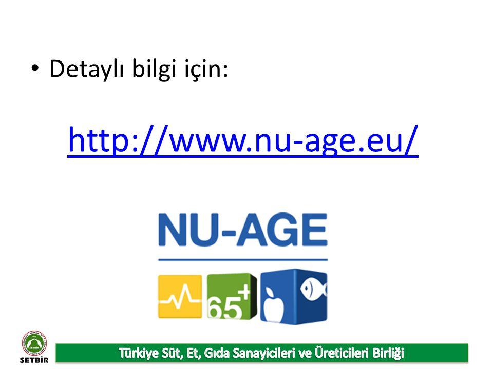 Detaylı bilgi için: http://www.nu-age.eu/