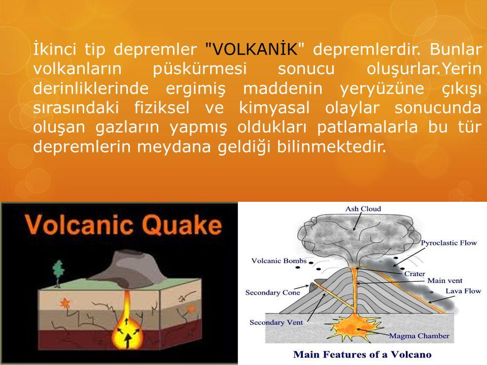 İkinci tip depremler