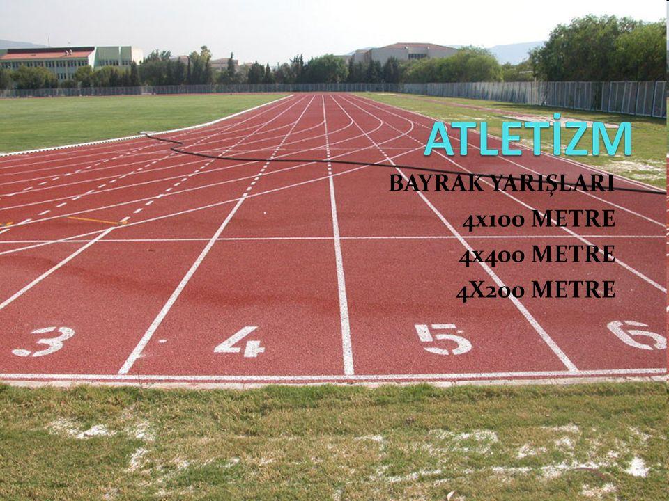  Takımların 30 cm boyundaki tahta veya metal bir sopayı (stafeti), elden ele geçirerek ve sırayla koşarak yaptıkları yarışlardır.