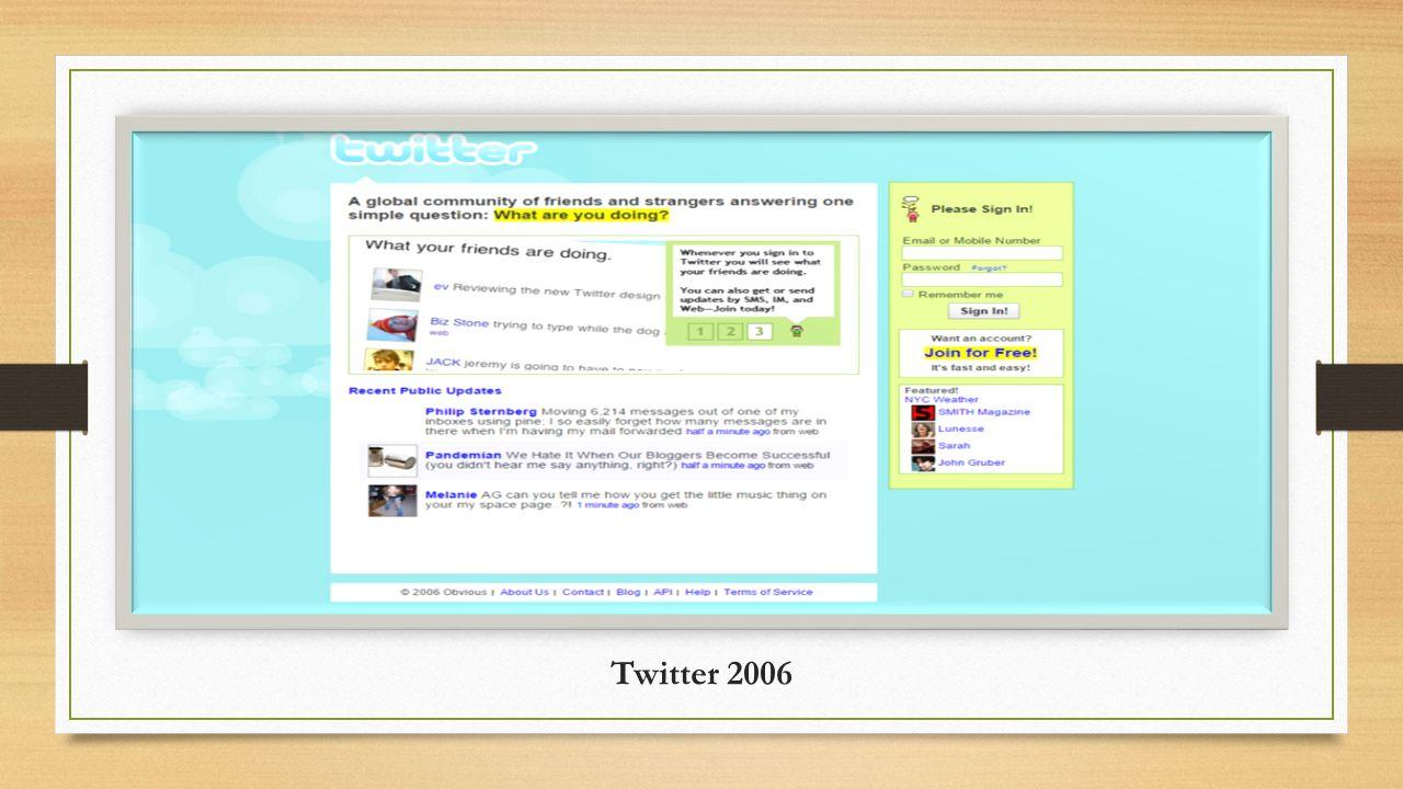 Twitter 2006