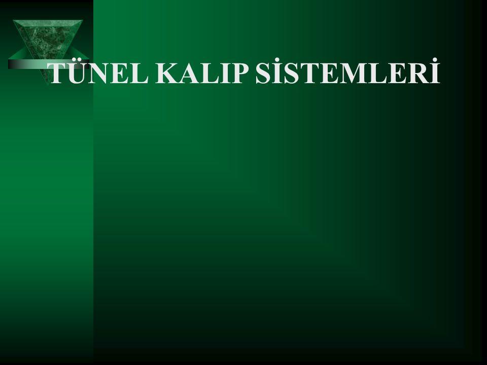 1978 yılından sonra, Türkiye de yapı üretimi yapan bir kuruluş olan MESA, endüstriyel yapı teknolojisini yurdumuza getirerek tünel kalıpları kullanmaya başlamış ve yaygınlaşmasında önderlik etmiştir.