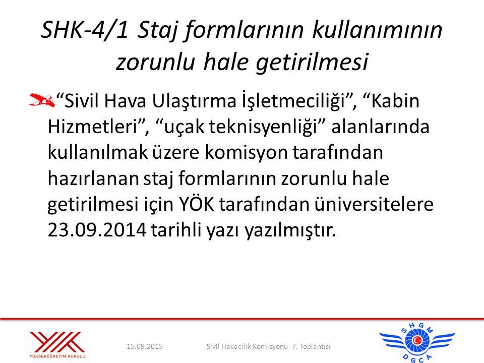 SİVİL HAVACILIK KOMİSYONU 7.