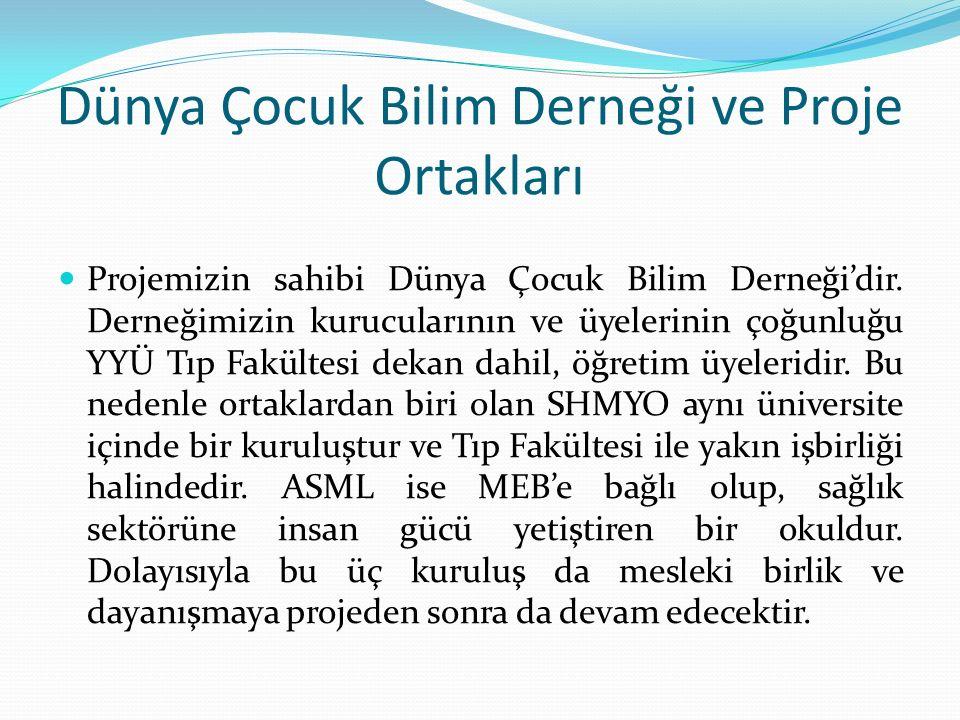 Genel hedef(ler): Türkiye'de mesleki sağlık eğitiminin kalitesinin artırılmasına katkı sağlamak.