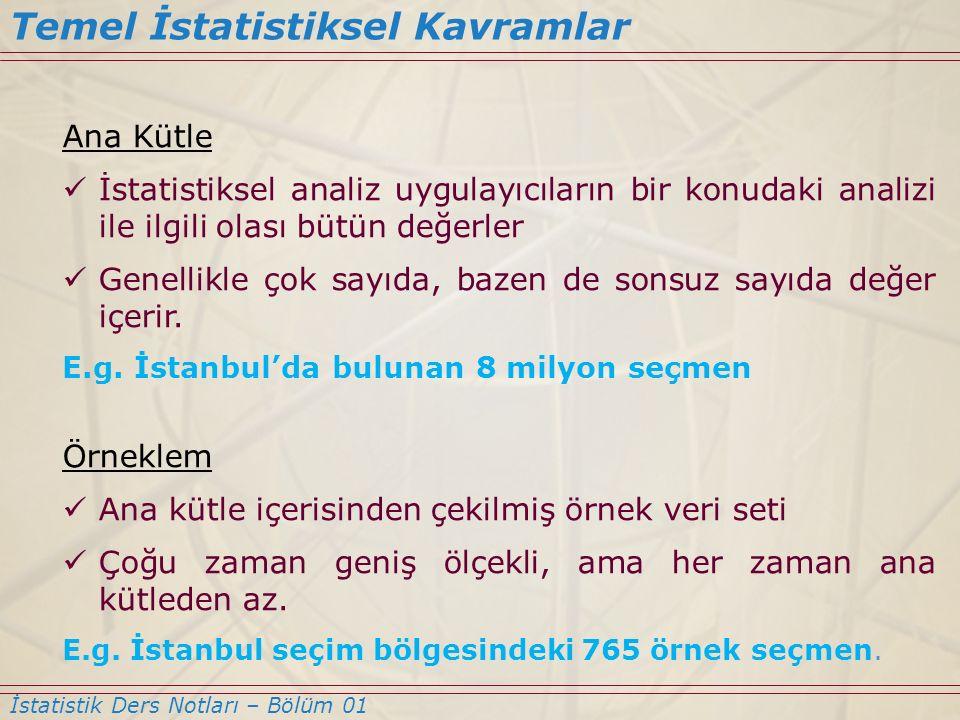 S1.2 – Bir psikolog İstanbul'da yer alan 250 öğrenci ile mülakat yaparak, öğrencilerin %80 inin haftada en az 25 saat televizyon izlediğini belirlemiştir.