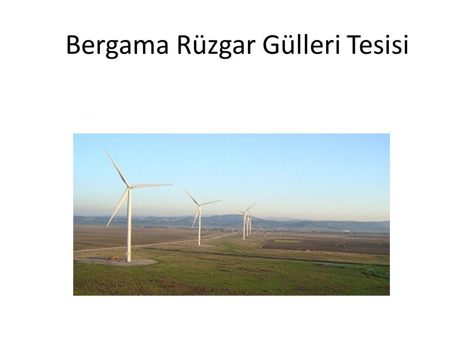 Bergama Rüzgar Gülleri Tesisi