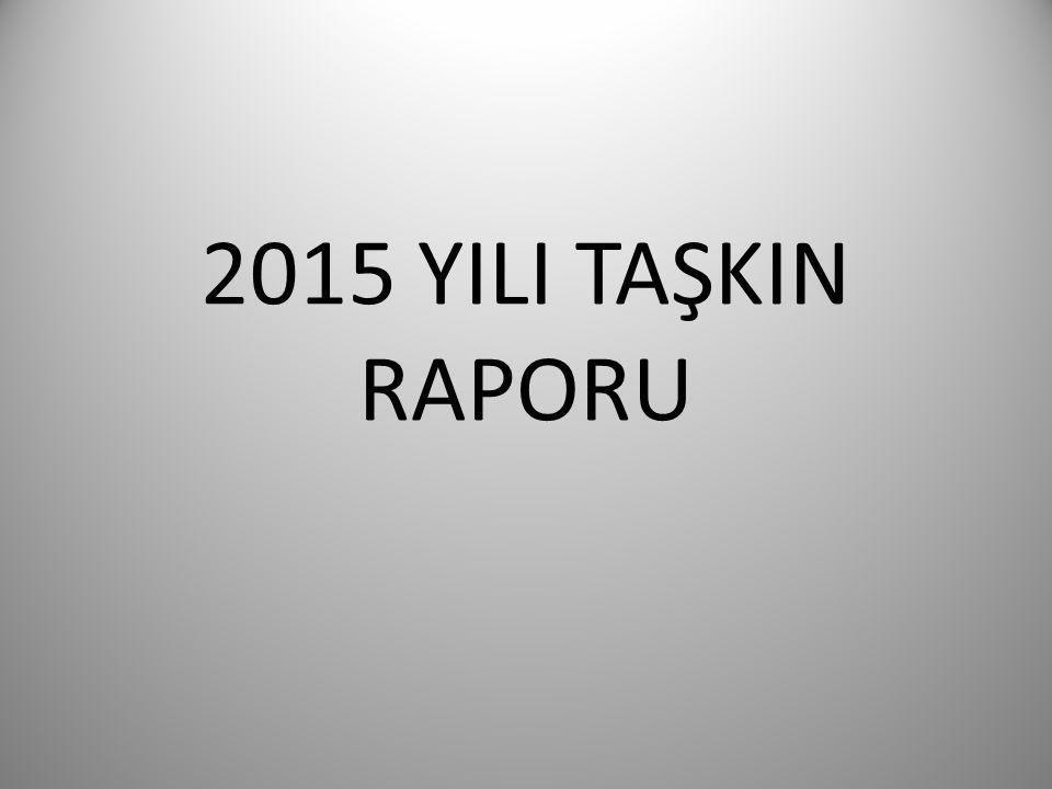 2015 YILI TAŞKIN RAPORU