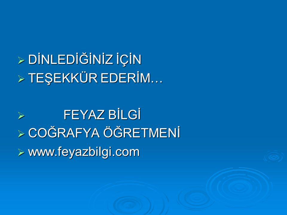 FEYAZ BİLGİ www.feyazbilgi.com21