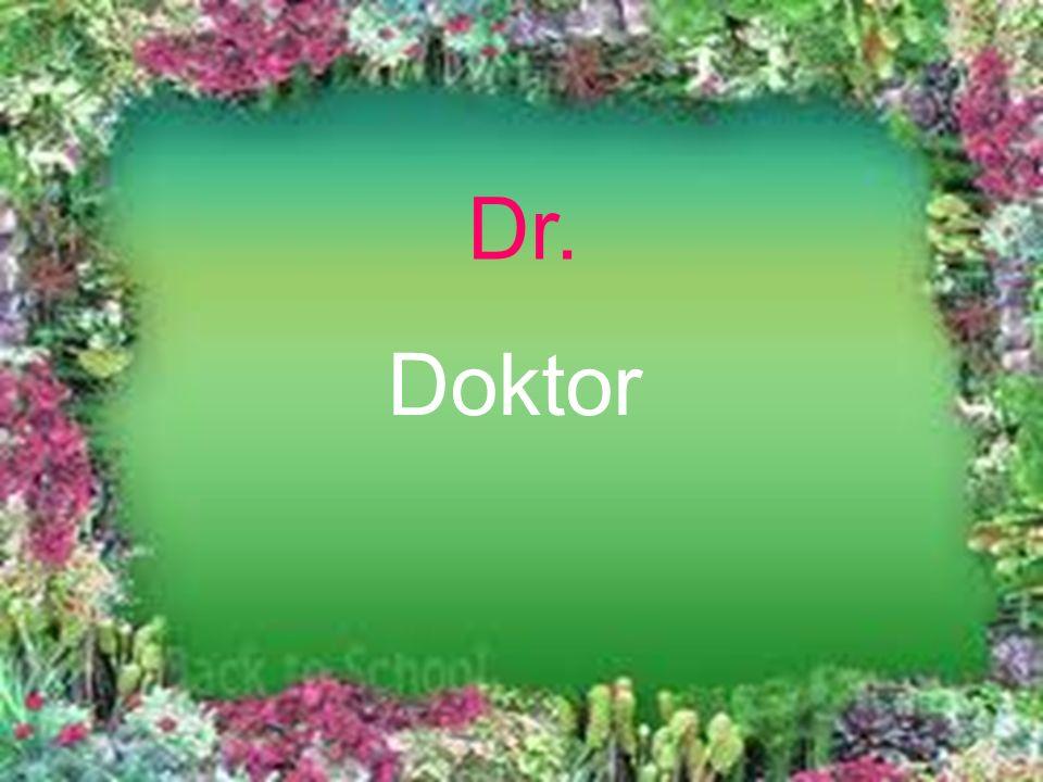 Dr. Doktor