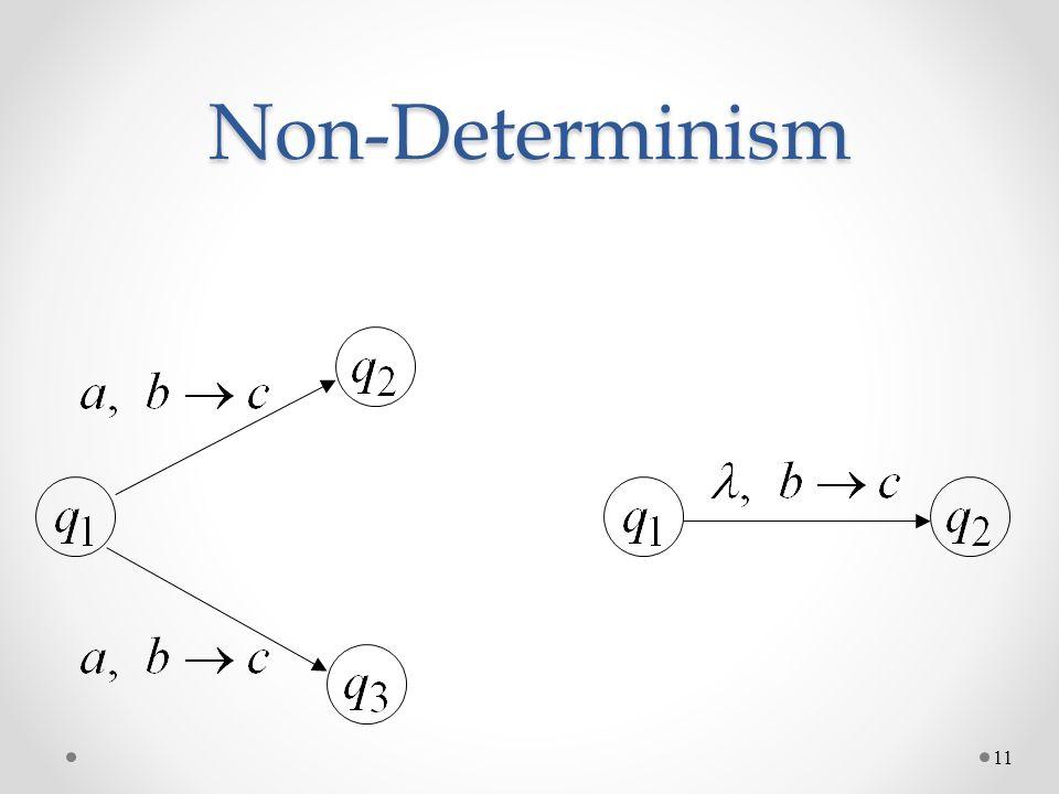 Non-Determinism 11
