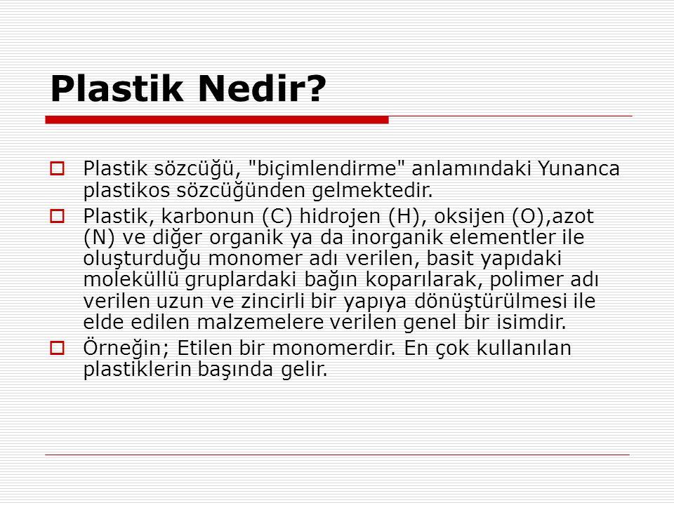 Plastik Nedir.