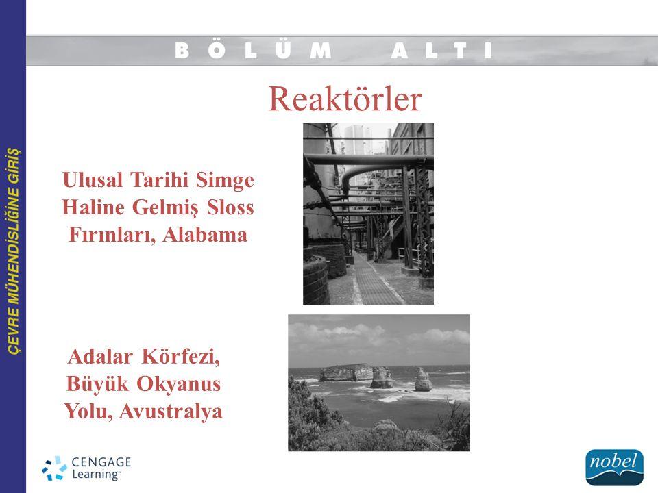 Reaktörler Ulusal Tarihi Simge Haline Gelmiş Sloss Fırınları, Alabama Adalar Körfezi, Büyük Okyanus Yolu, Avustralya