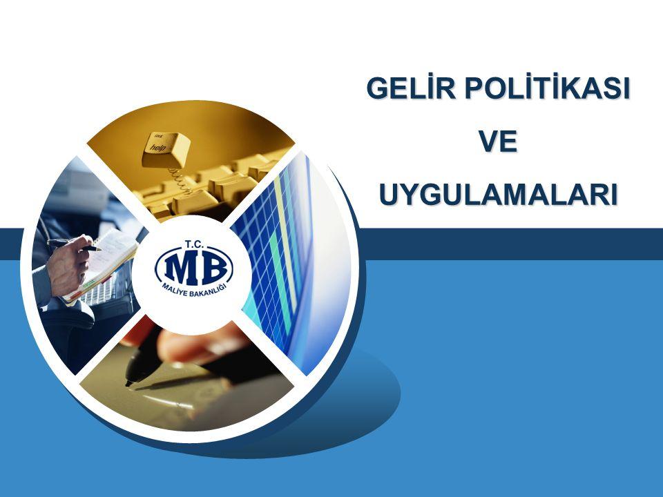 GELİR POLİTİKASI VEUYGULAMALARI