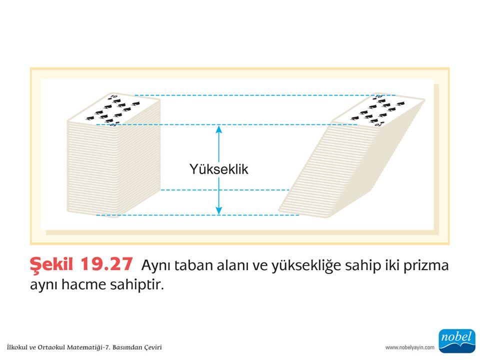 Konilerin ve Piramitlerin Hacimleri Formüller Arasındaki Bağlantılar