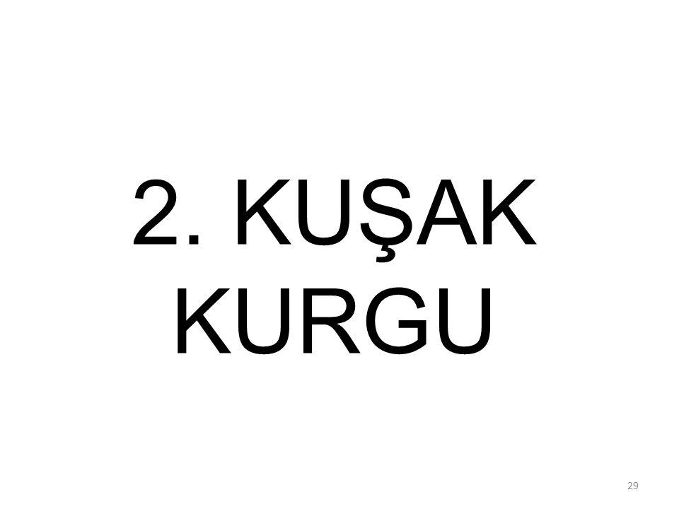 2. KUŞAK KURGU 29