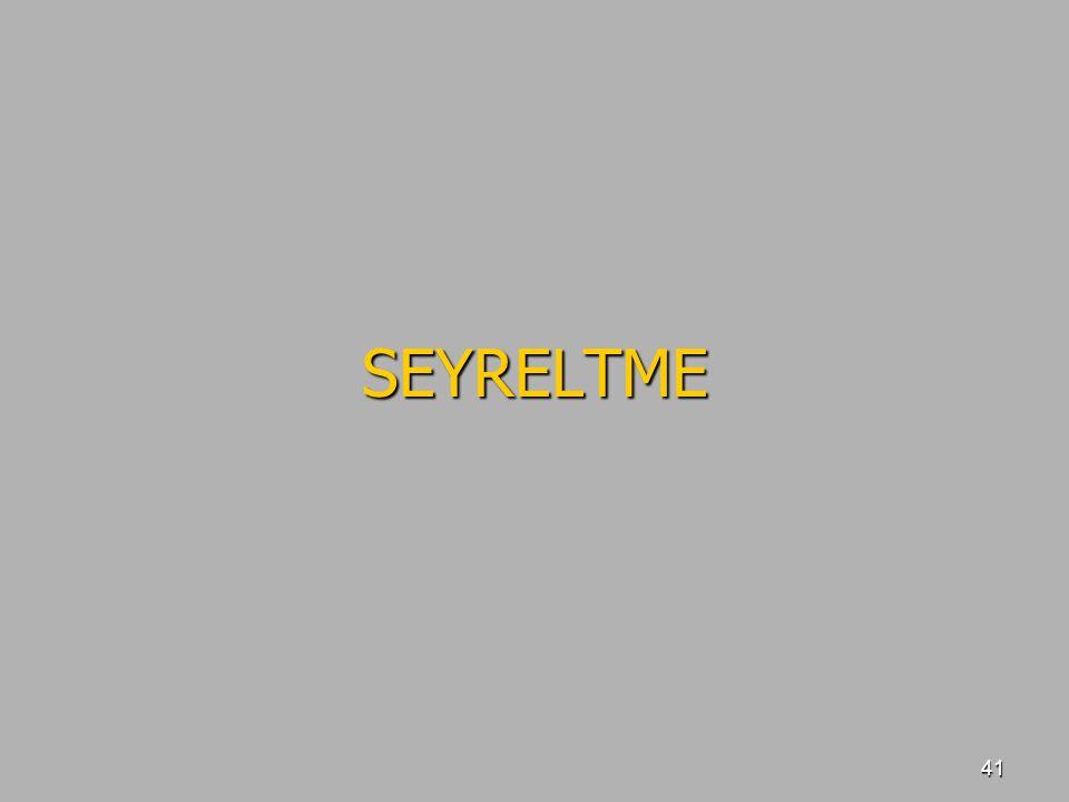 41 SEYRELTME