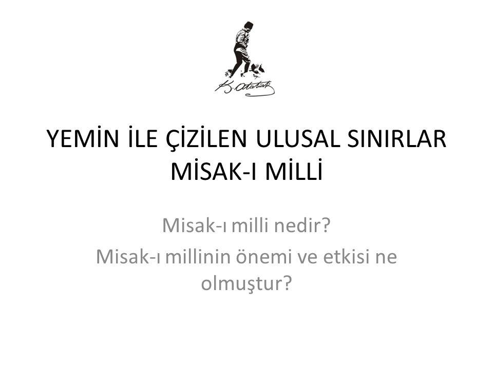 NUTUK Nutukta ise Mustafa Kemal Paşa bu durumu şöyle anlatmaktadır; 'Sözlerinde durmayan bu efendiler inançsız korkak cahil idiler, inançsız idiler çünkü milli amaçların dayanağı olan milli teşkilatın sağlamlığına inanmıyorlardı korkak idiler; biricik dayanağın ve kurtuluşun millet olduğunu ve olacağını takdir edemiyorlardı.