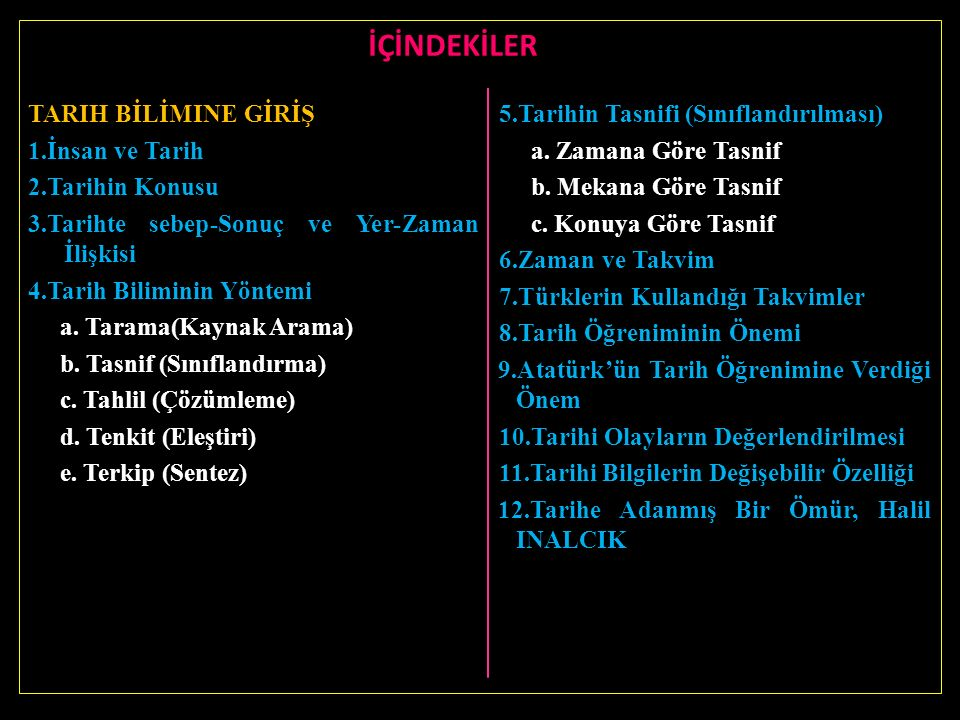 Tarihe Adanmış Bir Ömür: Halil İNALCIK Dünyaca ünlü tarihçimiz Halil İnalcık'ın soyu baba tarafından Kırım Türklerine dayanır.