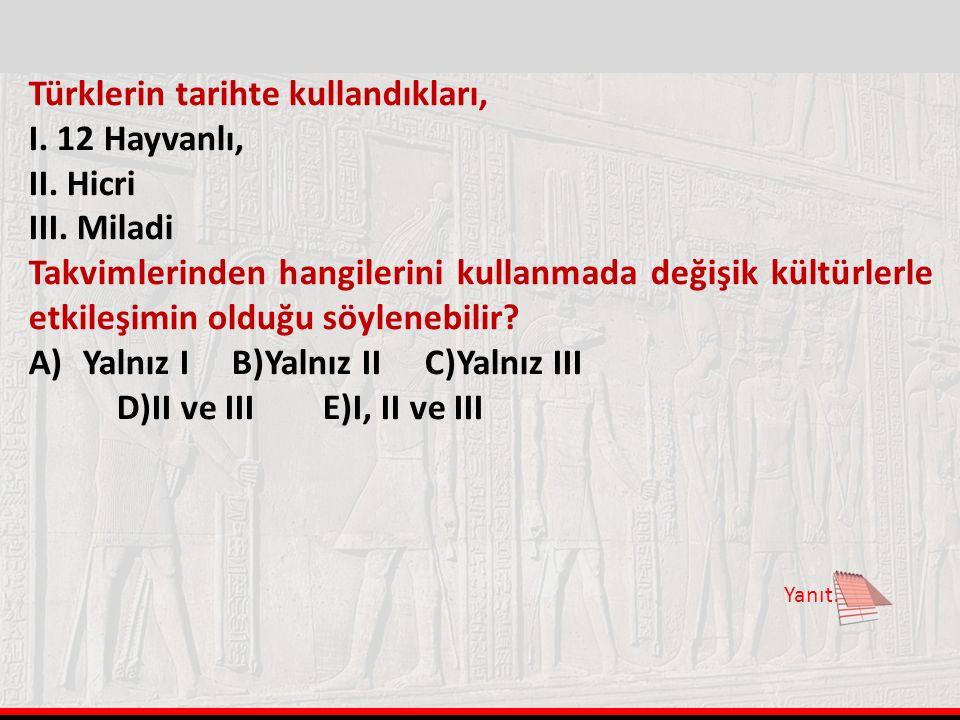 Hicri Takvimden Miladi Takvime Çevirme İşlemi 1. işlem: HY /33=X 2.İşlem: HY – X = Y 3. İşlem: 622 + Y= Miladi Yıl Miladi Takvimden Hicri Takvime Çevi