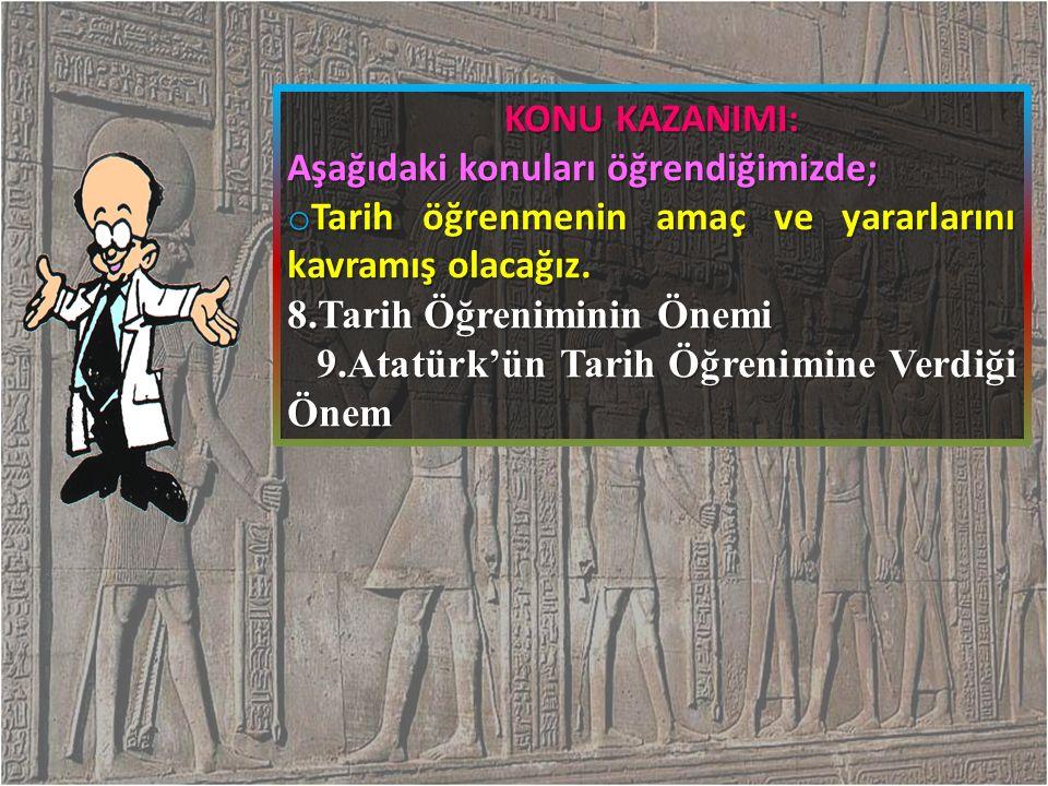 KONUYLA İLGİLİ ÇIKMIŞ SINAV SORULARI M.Ö.