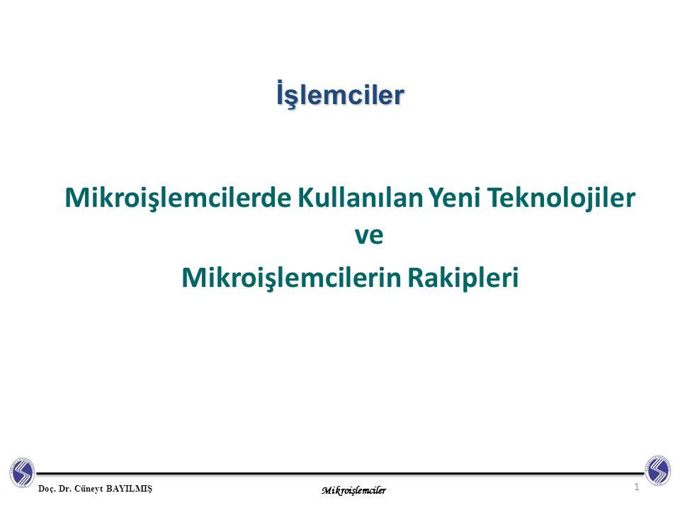 Mikroişlemciler Doç.Dr.