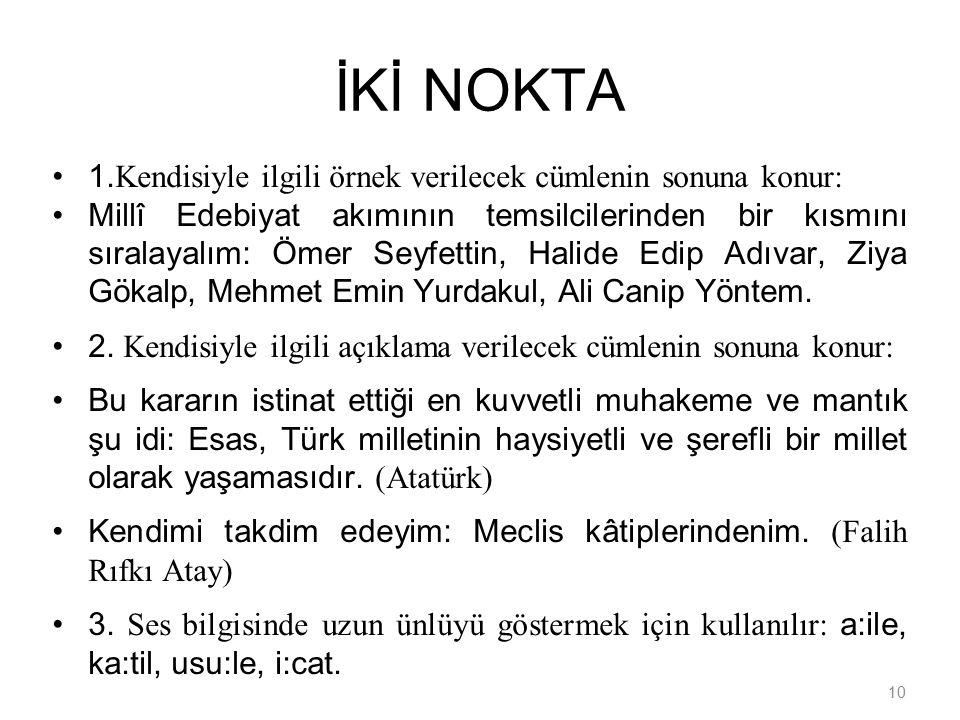 10 İKİ NOKTA 1.