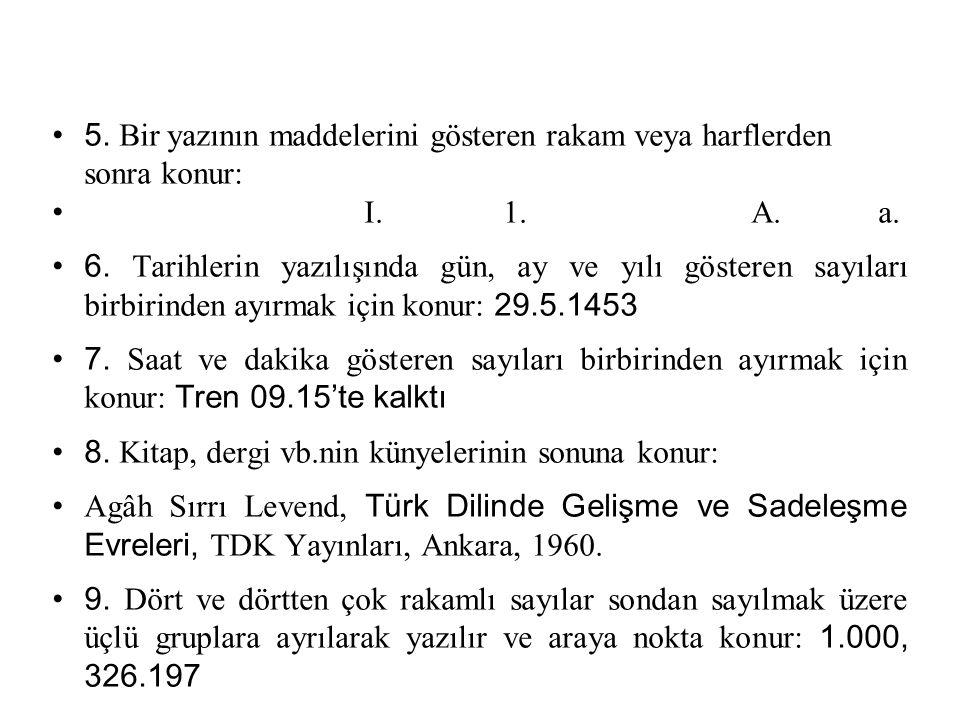 24 TIRNAK İŞARETİ 1.