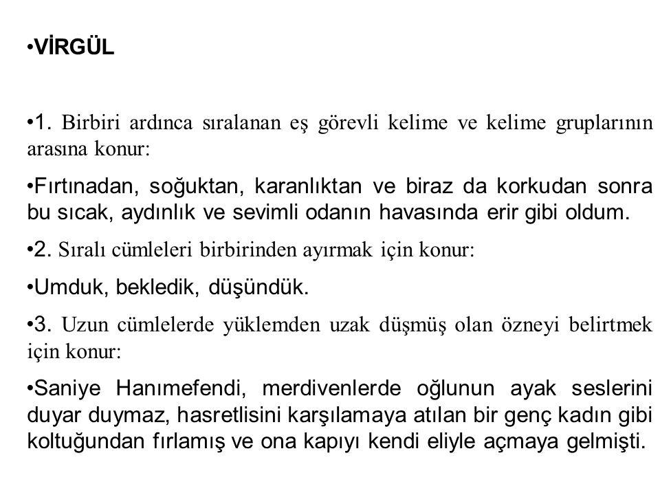 VİRGÜL 1.