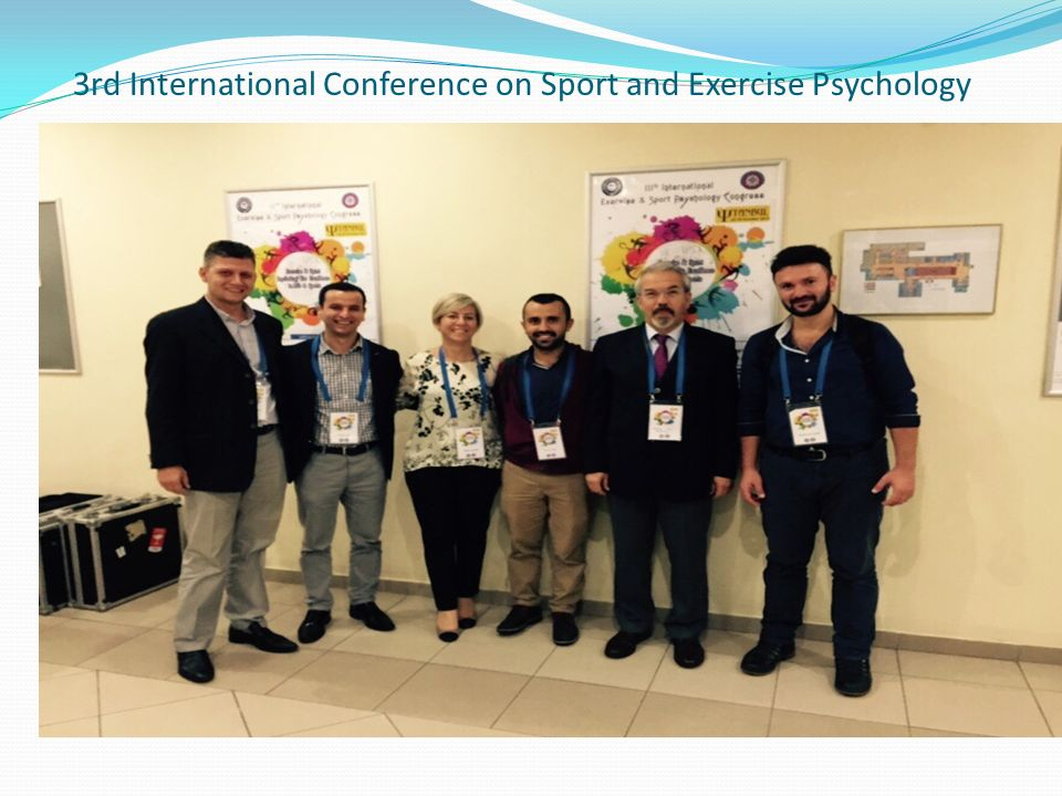 3rd International Conference on Sport and Exercise Psychology