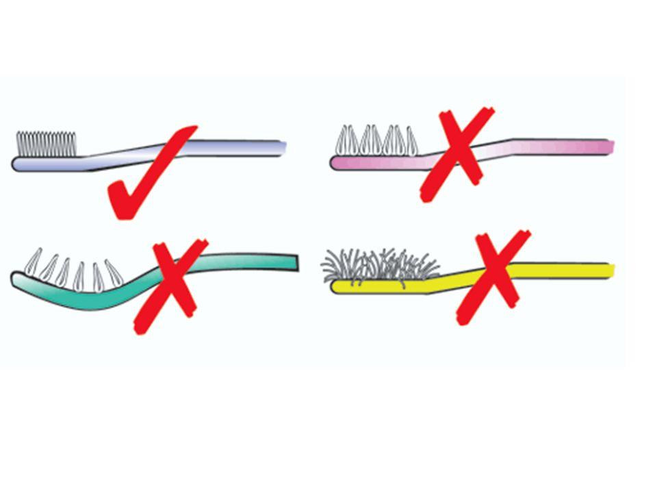 *Orta sertlikteki fırçalar tercih edilmelidir. *Yumuşak fırçalar,diş ve diş etleri hassas kişiler için uygundur. *Sert fırçalar,aşındırıcı etkileri ne