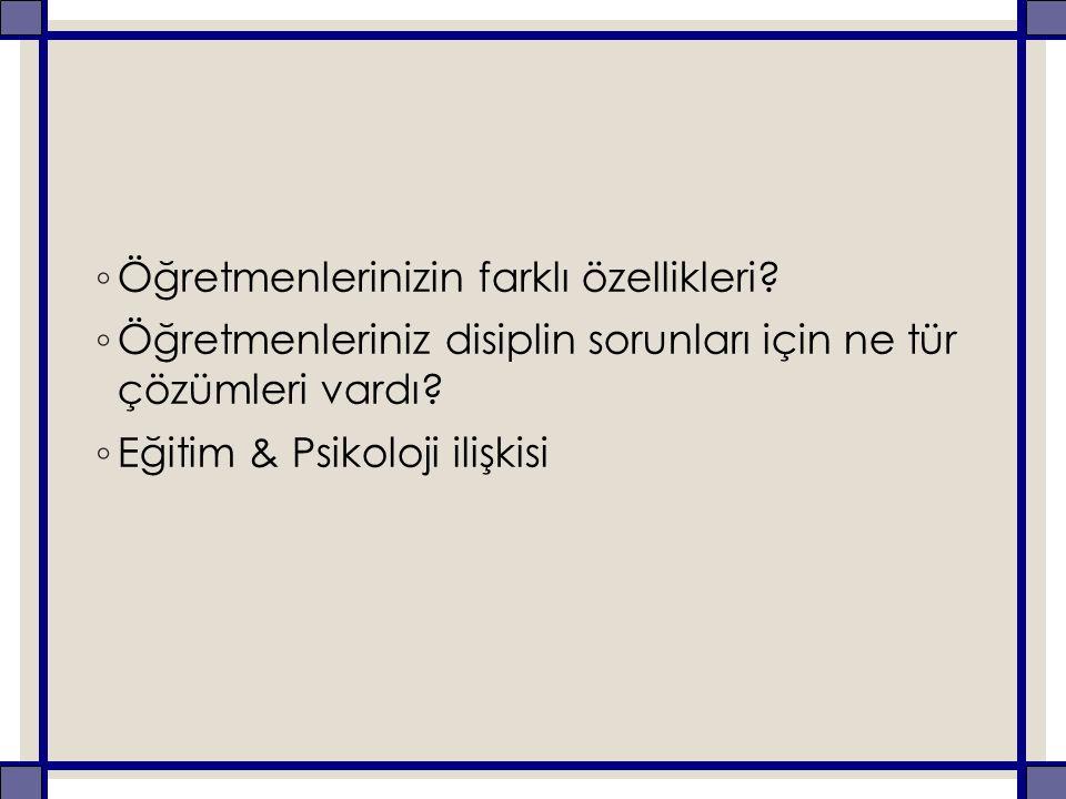 Piaget'in Zihinsel Gelişim Dönemleri ◦ I.Duyusal - Motor Dönem (0-2) ◦ II.