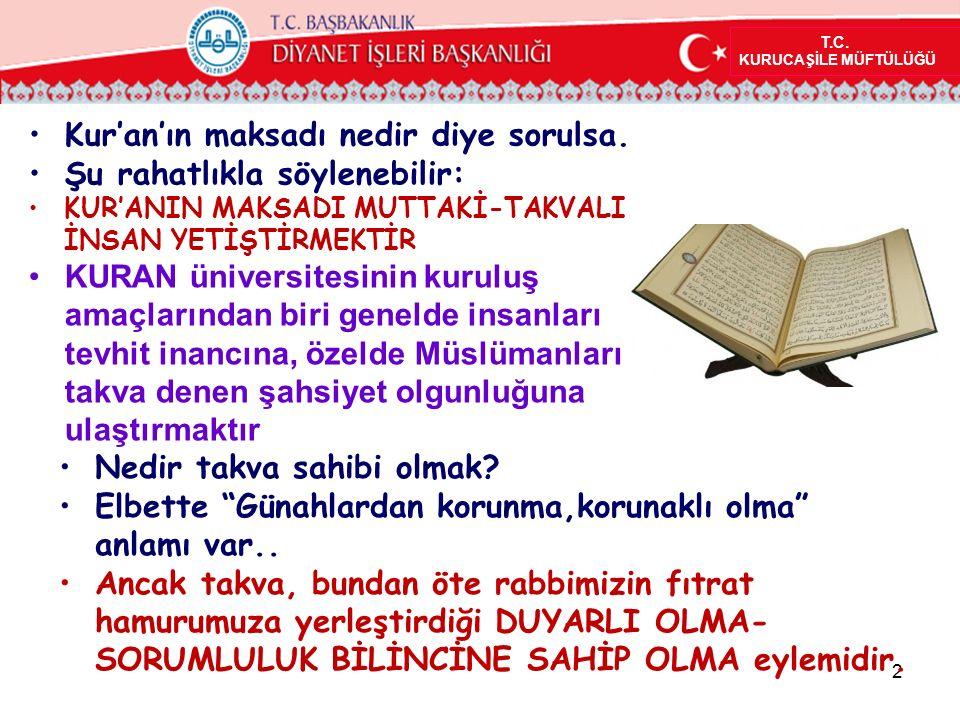 Takva paylaşılan bir şey midir.Evet, Kur'an'a göre takva paylaşılan bir şeydir.
