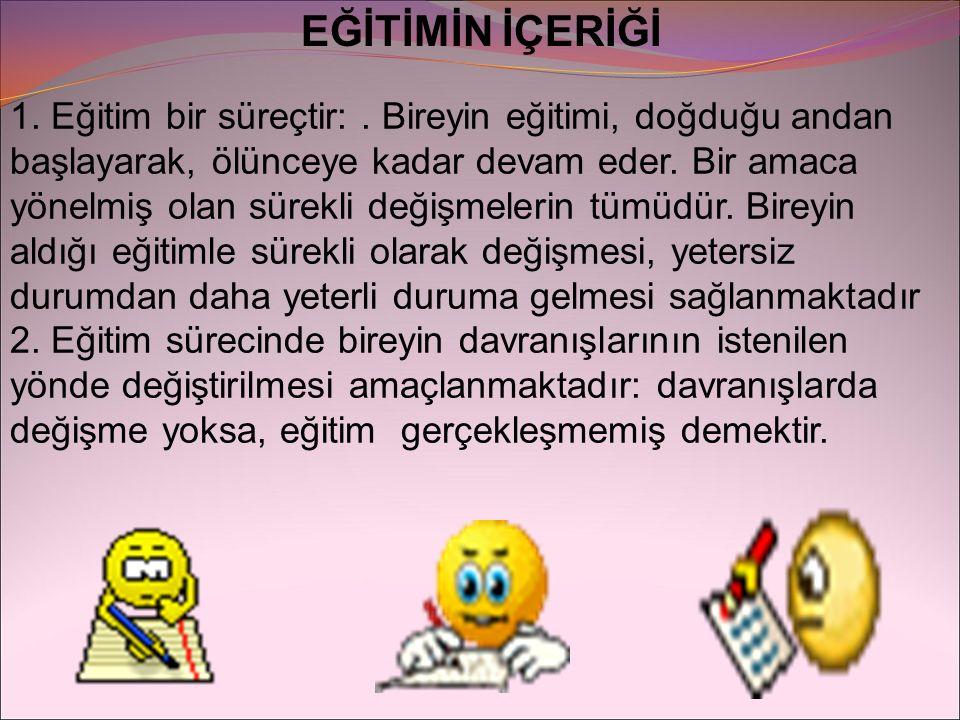 MİLLİ EĞİTİM TEMEL KANUNU Türk Milli Eğitiminin 16.06.