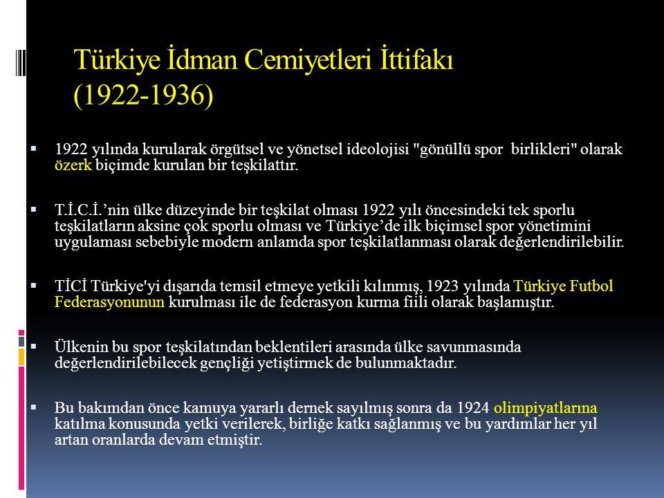 Eğitim  2) Türk sporunun geliştirilmesinden sorumlu olacak kuruluş ile Milli Eğitim Bakanlığı arasında sıkı bir işbirliği kurulacak ve faaliyetlerin halk, okul ve üniversite sporuna yöneltilmesi sağlanacaktır.