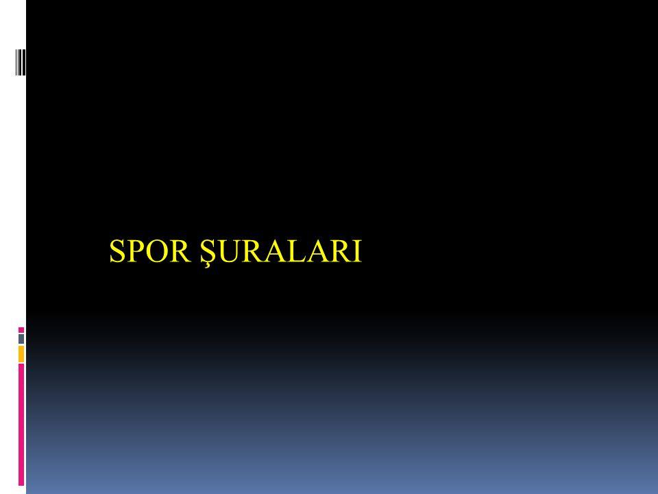 SPOR ŞURALARI