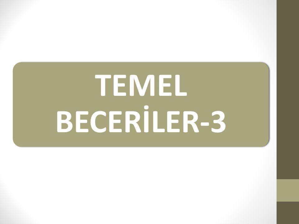 TEMEL BECERİLER-3