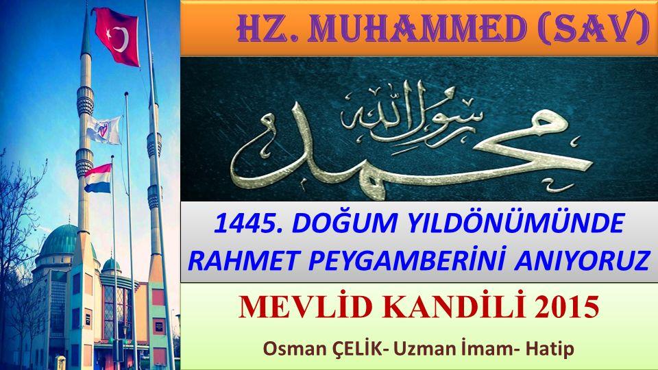 مُحَمَّدٌ رَسُولُ اللّٰهِ Muhammed, Allah ın Resûlüdür.